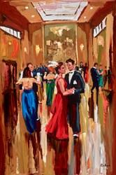 Formal Night by Lynn Rodgie - Original Painting on Stretched Canvas sized 30x20 inches. Available from Whitewall Galleries